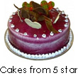Star Cakes to India