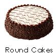 Round Cakes to India