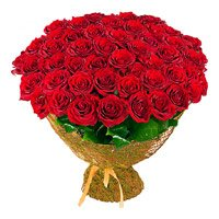 100 Red Roses Bouquet Delivery in India