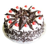 Best Father's Day Cakes to India - Black Forest Cake From 5 Star