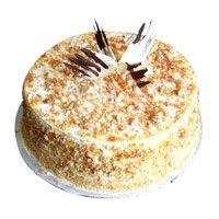 Cake in India - 1 Kg Butter Scotch Cake