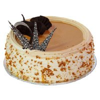 Father's Day Cakes Delivery in India - Butter Scotch Cake From 5 Star