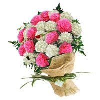 Send Father's Day Flowers to India - Carnations