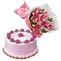 Cake Flowers to India