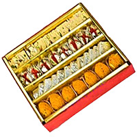 Online Diwali Gifts in Patiala. 1 Kg Assorted Sweets