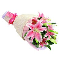 Father's Day Flower in India :  Pink Lily