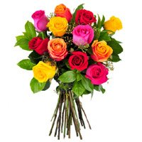 Flower Delivery in India - Mix Roses to India
