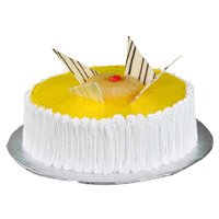 Online Father's Day Cakes to India - Pineapple Cake From 5 Star