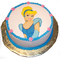 Flat 15% on or above 799 | 2.5 kg Cinderella Cake By IndiaFlowerMall @ Rs.3,500