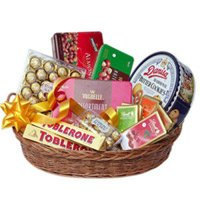 Chocolates to India for Mother - Basket of Imported Chocolates
