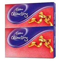Rakhi Gift to India. 2 Cadbury Celebration Packs