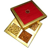Send 1/2 Kg Fancy Dry Fruits with Rakhi Gifts to India