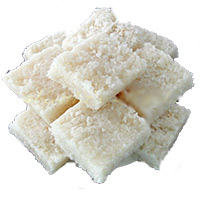Send Rakhi with 1 Kg Coconut Barfi to India