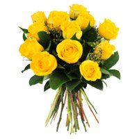 Mother's Day Flowers to India : Yellow Roses