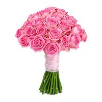 Mother's Day Flower Delivery in India : Pink Roses Bouquet