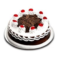 Cakes to India : 1/2 Kg Black Forest Cake to India