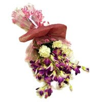 Flowers in India - Orchids n Carnations