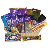 Chocolates to India