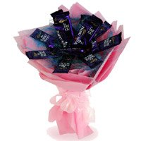 Mother's Day Chocolate Bouquet to India