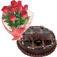 Red Roses and Chocolate Cakes to India