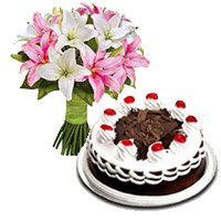 Mother's Day Flowers to India : Cakes to India