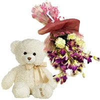 Orchid Carnation and Gifts to India