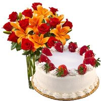 Flowers and Cakes Delivery in Bardoli
