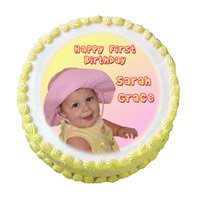 Online Cake Delivery India - 1 Kg Photo Cake