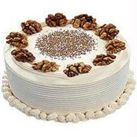 Send Cakes to India - Vanilla Cake