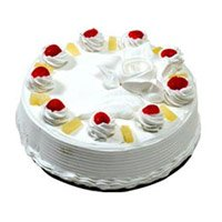 Same Day Cake Delivery India - 1 Kg Pineapple Cake