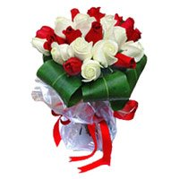 Send White Roses to India