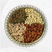 Suprise your loves ones by sending 1 Kg Mix Dry Fruits as gifts to Haldwani