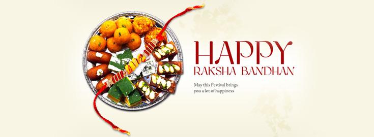 Rakhi Sweets to India
